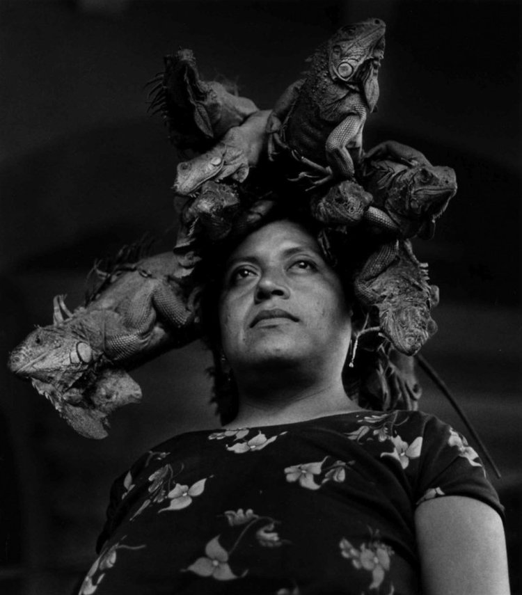 Nuestra Señora de Las Iguanas,Juchitán, Oaxaca, 1979, Graciela Iturbide