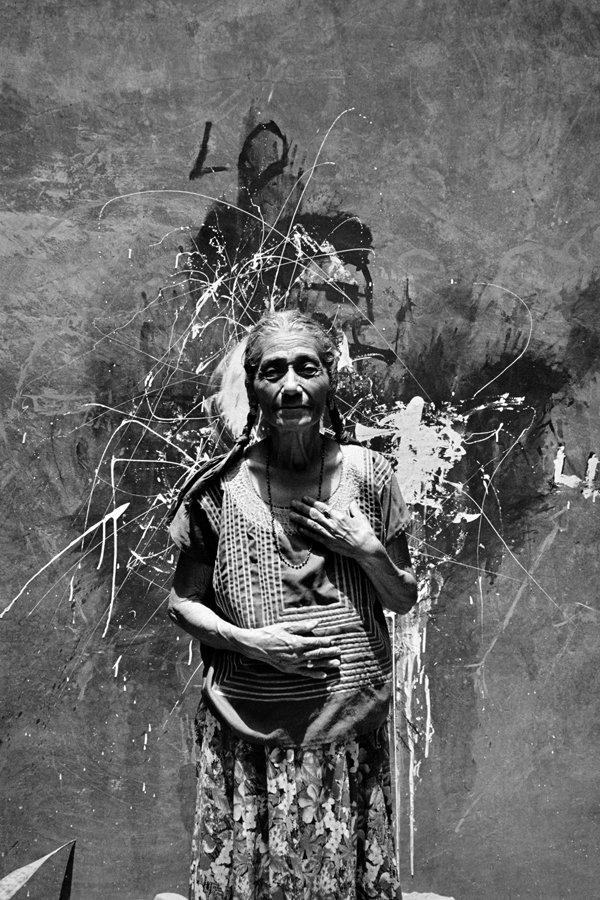 Graciela Iturbide    Na' Lupe Pan , Juchitán, 1988  12 x 9.5 inch Vintage Gelatin Silver Print