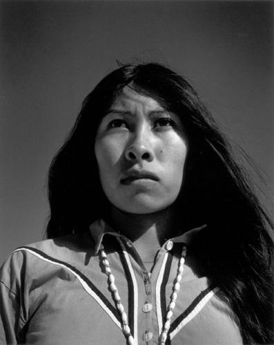 Graciela Iturbide    Seri Woman, Sonora Desert,  1979  11 x 14 inch Silver Gelatin Print