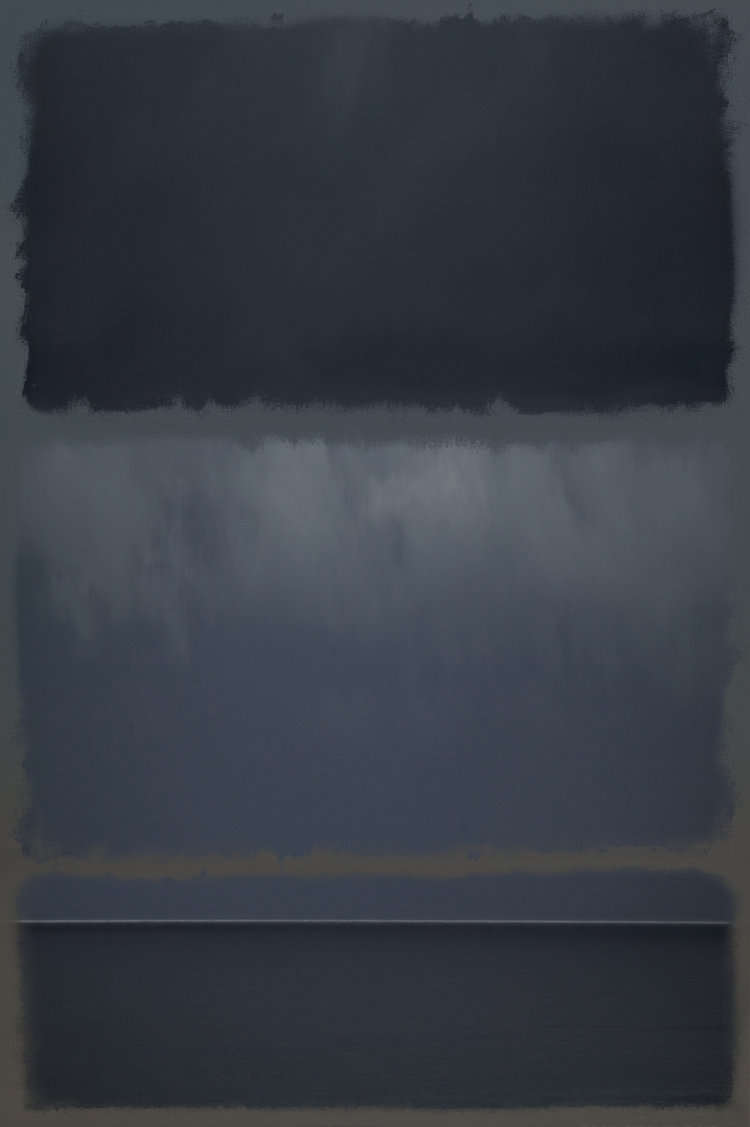 Richard Ehrlich   Homage to Rothko #13  44 x 60 inch Archival Pigment Print Initialed, dated and editioned in pencil on verso From a limited edition of five $8,500