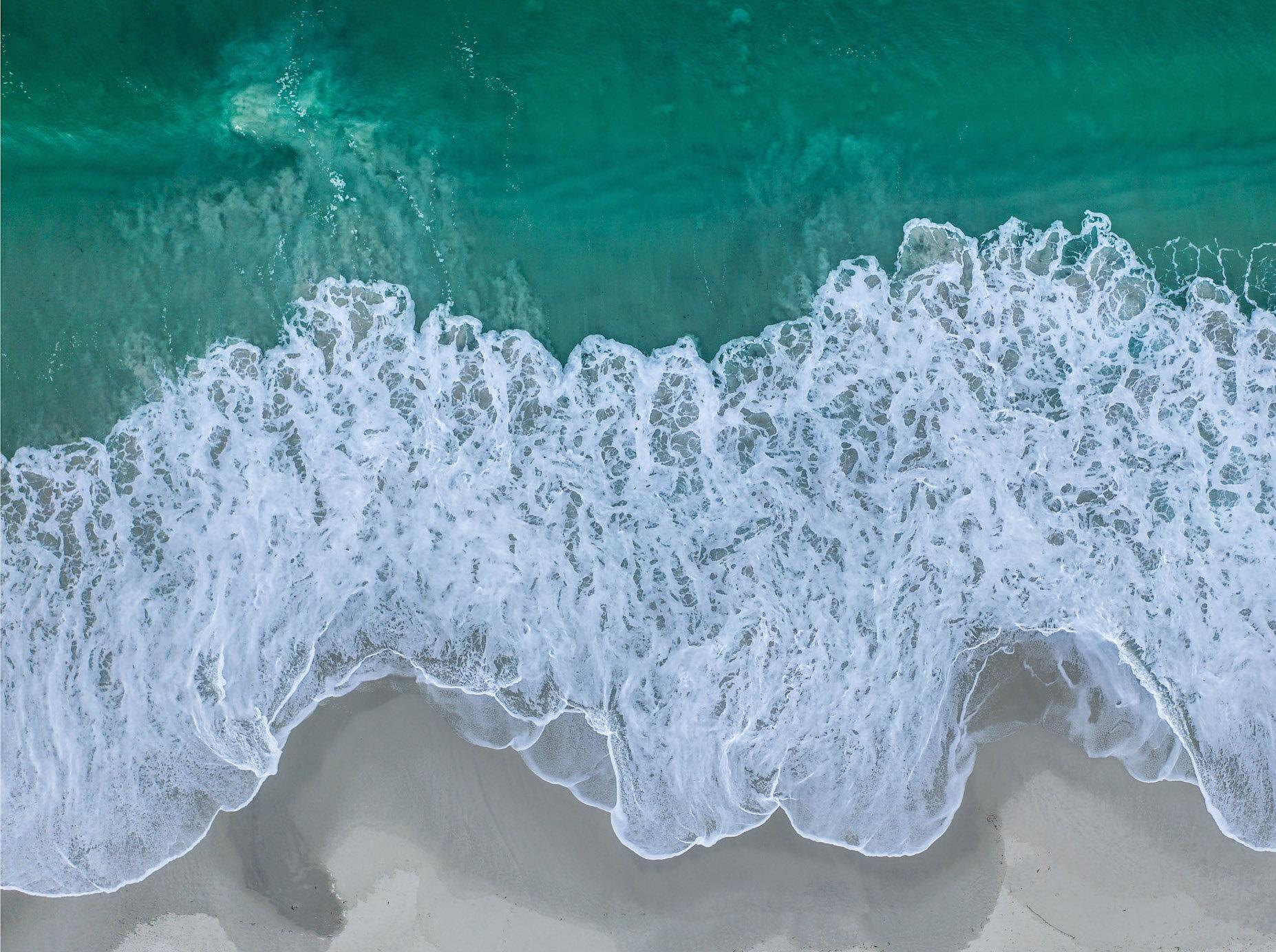 David Ondaatje     Carmel Beach #1  44 x 34 inch Archival Pigment Print
