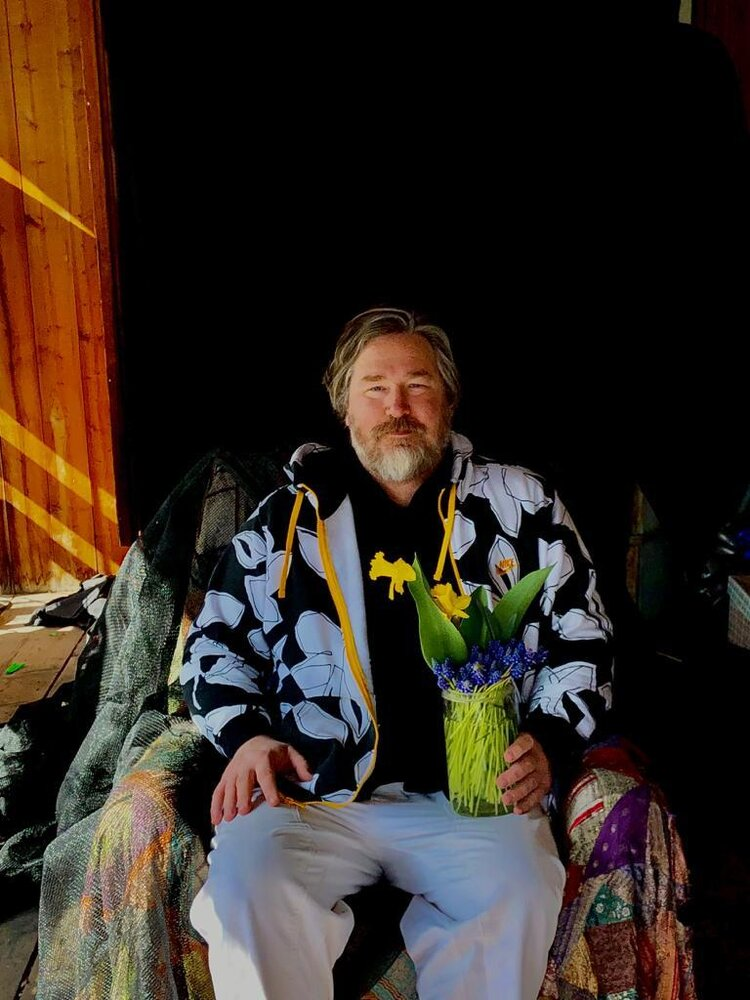 Portrait of John Chiara by Beny Steiner, Scuol Switzerland
