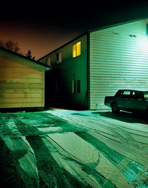 Todd Hido,  #7373 , from the series  Excerpts from Silver Meadows,  2008