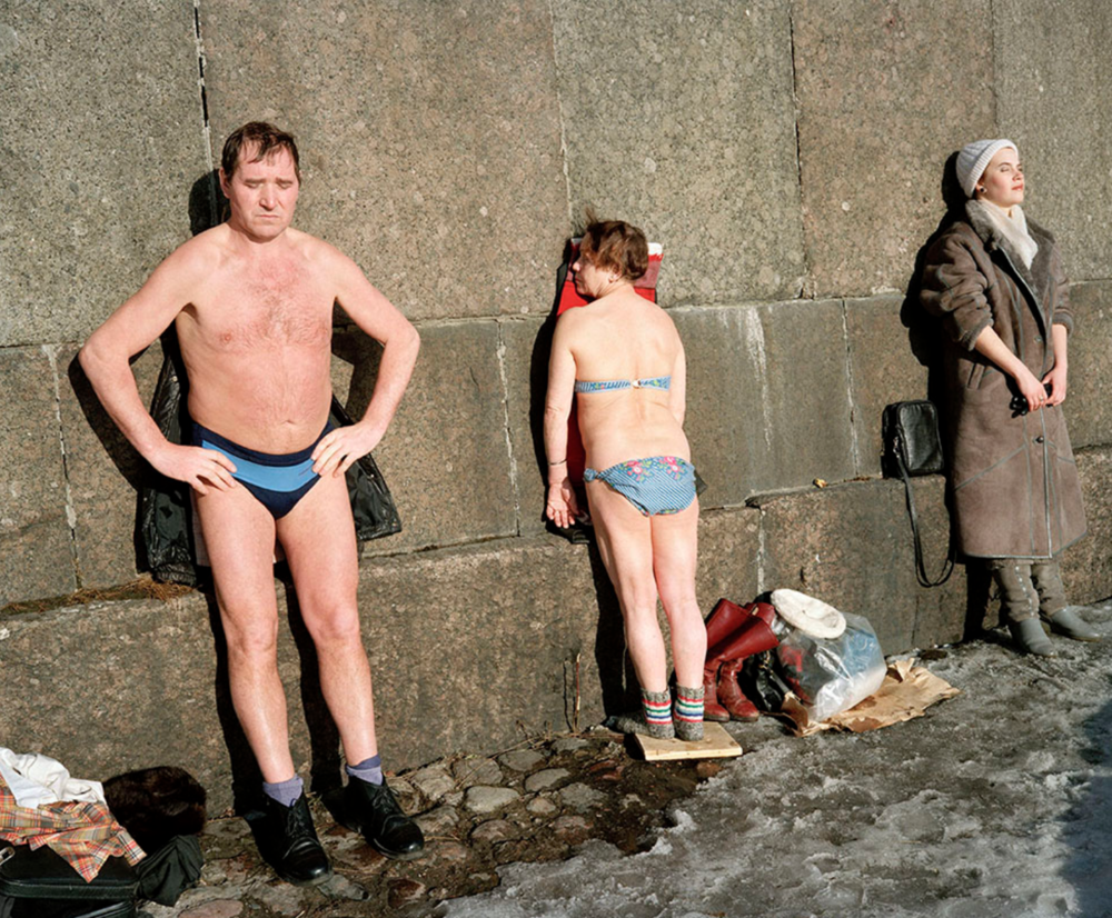 Martin Parr,  Leningrad, St Petersburg, Russia , 1992