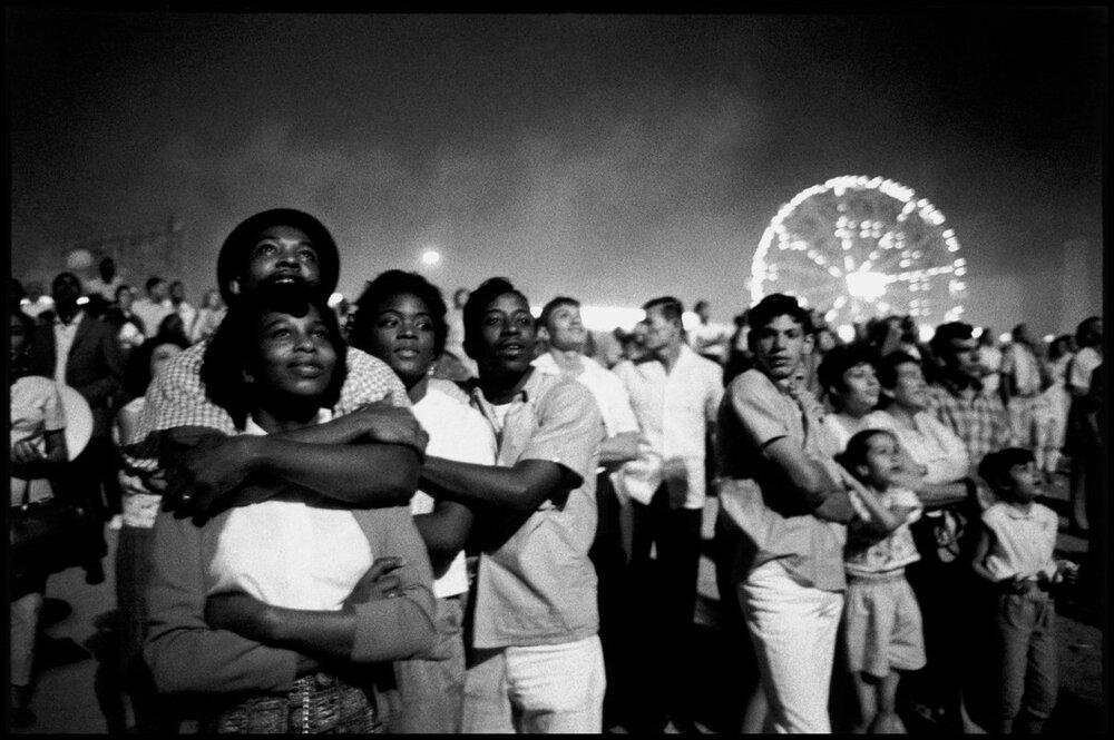 Bruce Davidson,  Coney Island, NY,  1962