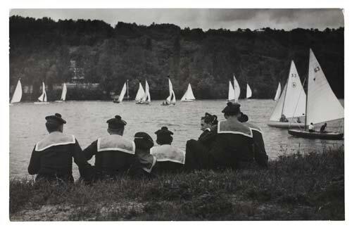 Brassaï,  Regatta sur la Seine , 1933
