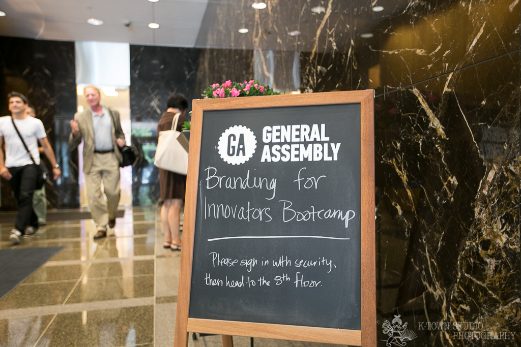 """""""Branding for Innovators Bootcamp"""" taught by Aveya Creative founder Mariya Bouraima at General Assembly DC"""
