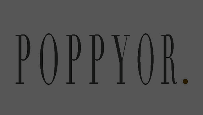 Client:  Poppyor  Industry:  Jewelry  Project:  Logo design
