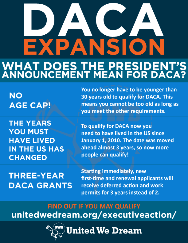 DACA Expansion infographic
