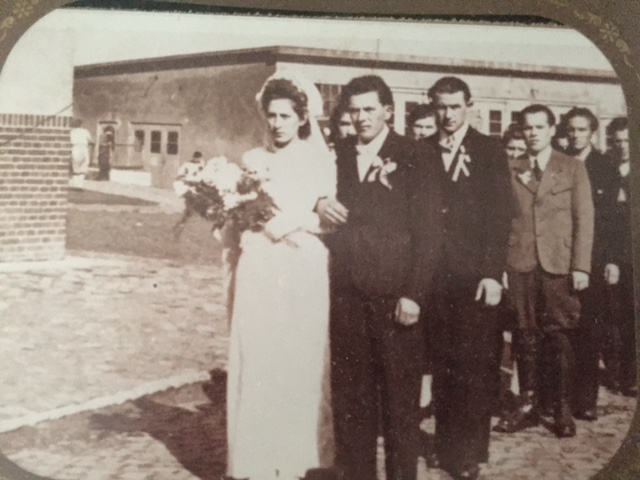 Jeremy's grandparents, Stanislaw and Ala, met and were married in a post-war refugee camp in Germany after serving several years in a Nazi labor camp.