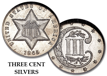 Three-Cent Silver - 3c