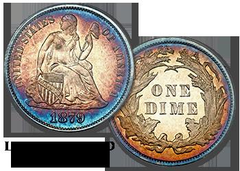 Liberty Seated Dimes - 10c