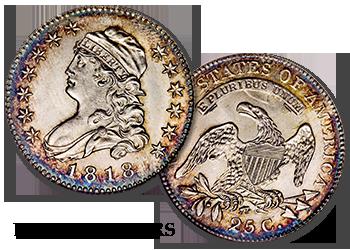 Bust Quarters - 25c