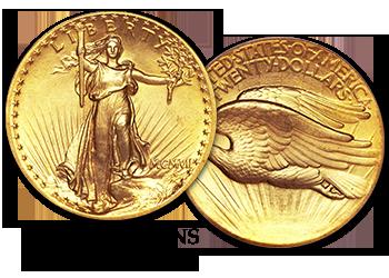 Saint Gaudens Gold Double Eagle - $20 Gold Piece