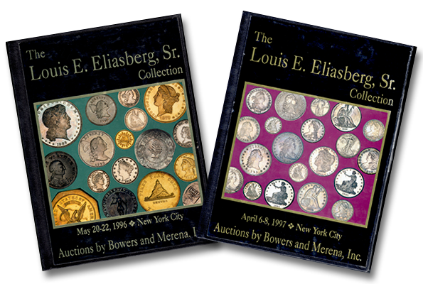 Auction Catalogs from the famous sale of the Louis Elaisberg Sr. Collection of rare coins