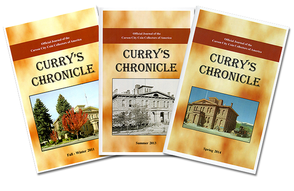 Curry's Chronicle - The award-winning official journal of the Carson City Coin Collectors of America
