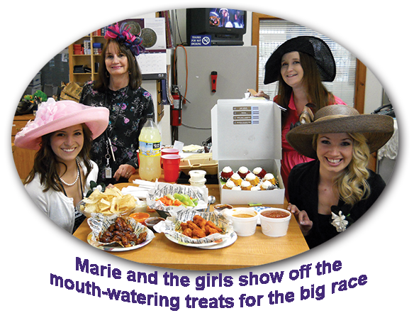 Southgate Coins Kentucky Derby Day tradition always involves food for employees to snack on during the horse race