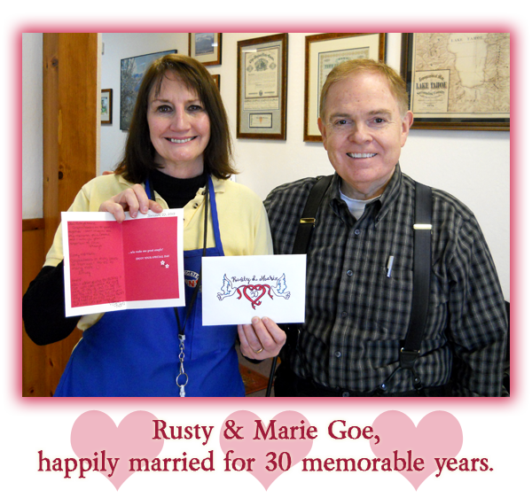 Southgate Coins owners Rusty and Marie Goe celebrate their 30-year anniversary