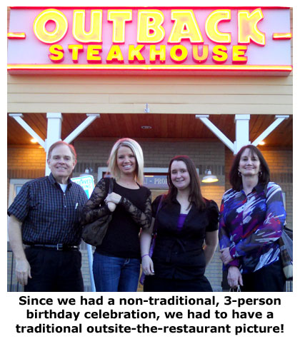 Outback Steakhouse hosts Southgate Coins' May birthday celebration