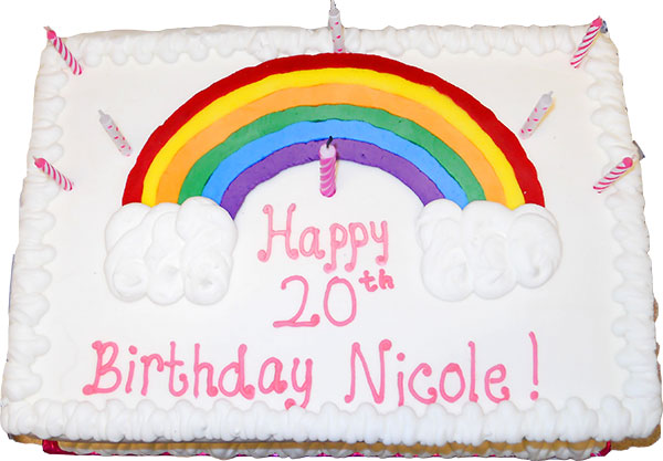 Nicole's huge birthday celebration at Southgate Coins