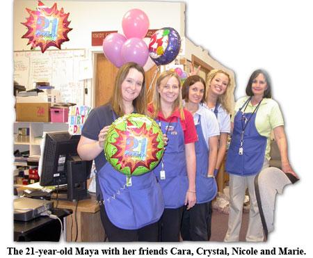 Southgate Coins honors Maya Roberts on her birthday