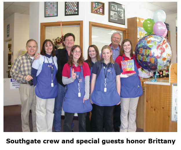 Southgate Coins crew joins with C4OA members at Brittany's birthday party