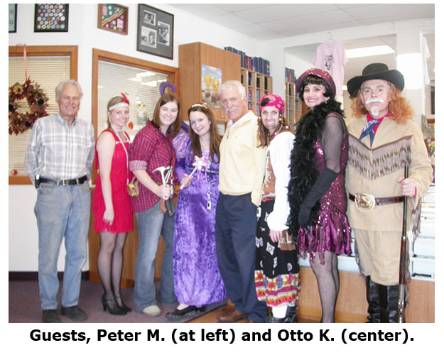 Southgate Coins welcomes guests on Halloween 2008