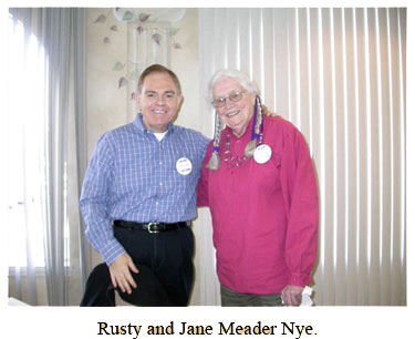 Rusty and Jane Meader Nye