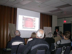 Attendees of Rusty Goe's lecture in Carson City