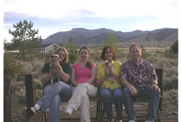 Southgate Coins employees enjoying the view of Mt Rose