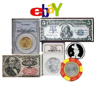 Southgate Coins sells items on EBay