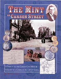 Cover image for Rusty Goe's book, The Mint on Carson Street