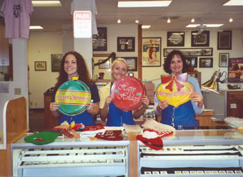 Southgate Coins staffers prepare for the holiday season