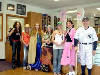 Southgate Coins staff dresses up for Halloween