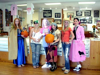 Southgate Coins staff knows how to celebrate the costumed holiday