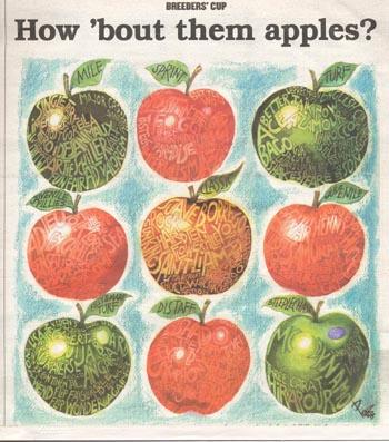 Breeders Cup apples