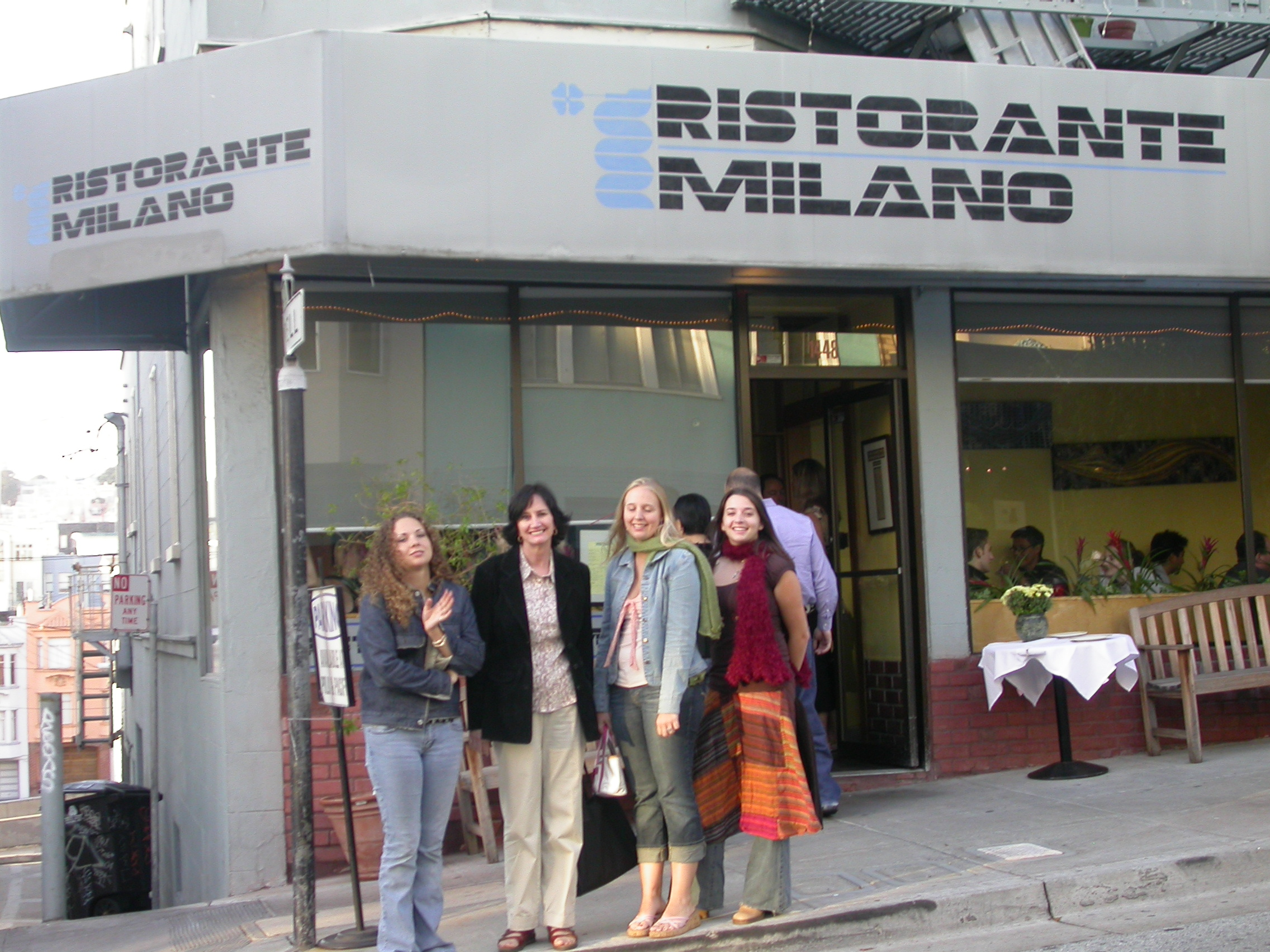 Southgate Coins staff visits at Ristorante Milano to get their Italian dining fix