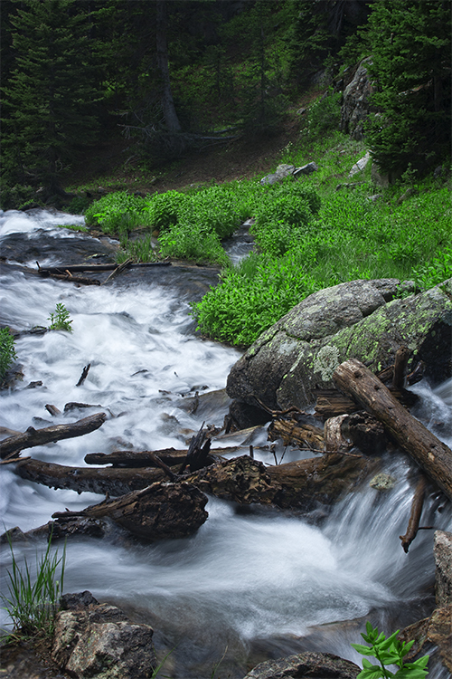 Bear Lake Trail, Rocky Mountain National Park, Colorado.