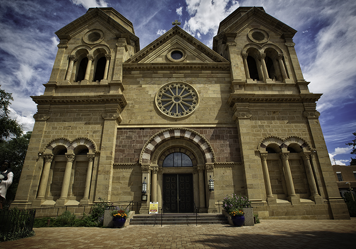Cathedral Basilica of Saint Francis of Assisi, Santa Fe, New Mexico.