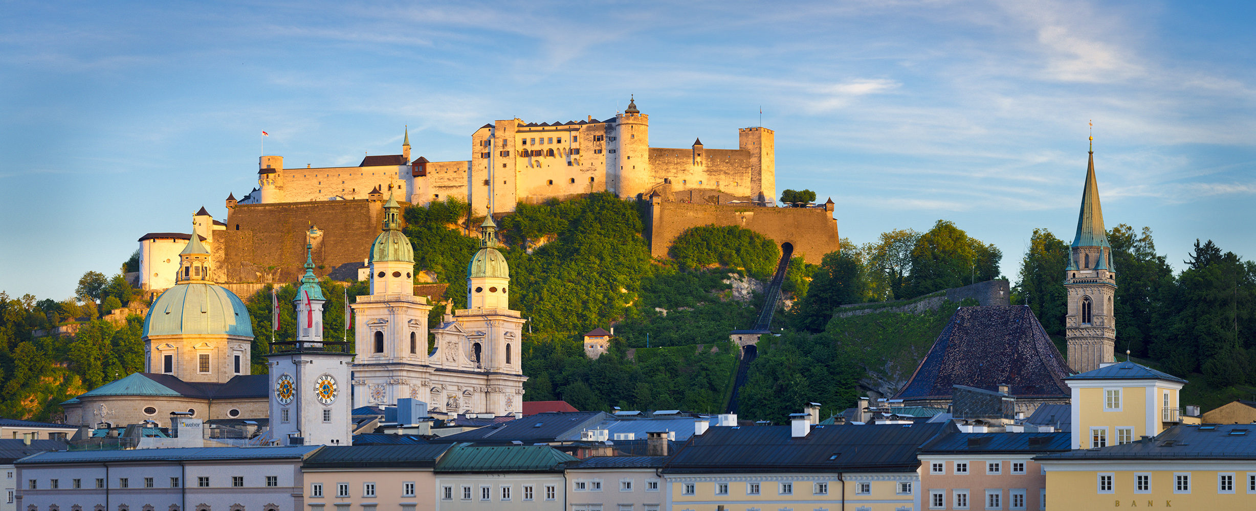 Location and Date: Salzburg, Austria; 28 May 2017  Tech Specs: 1/160s @ f/8.0. 165 mm @ ISO 200. 5 image panorama  Camera & Lens: Canon 5D Mark III; Canon EF 70-300mm f/4-5.6 IS USM