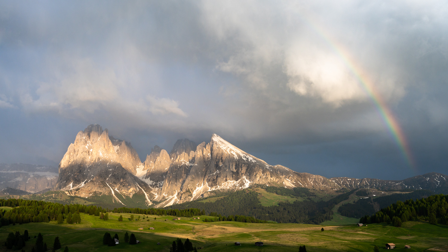 Evening Light - Alpe di Siusi