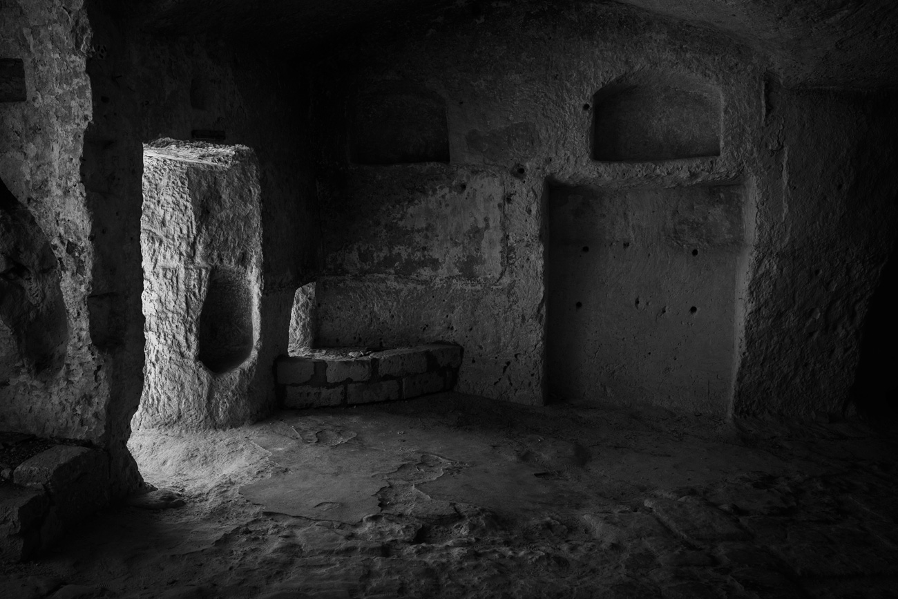 Cave Dwelling in Matera