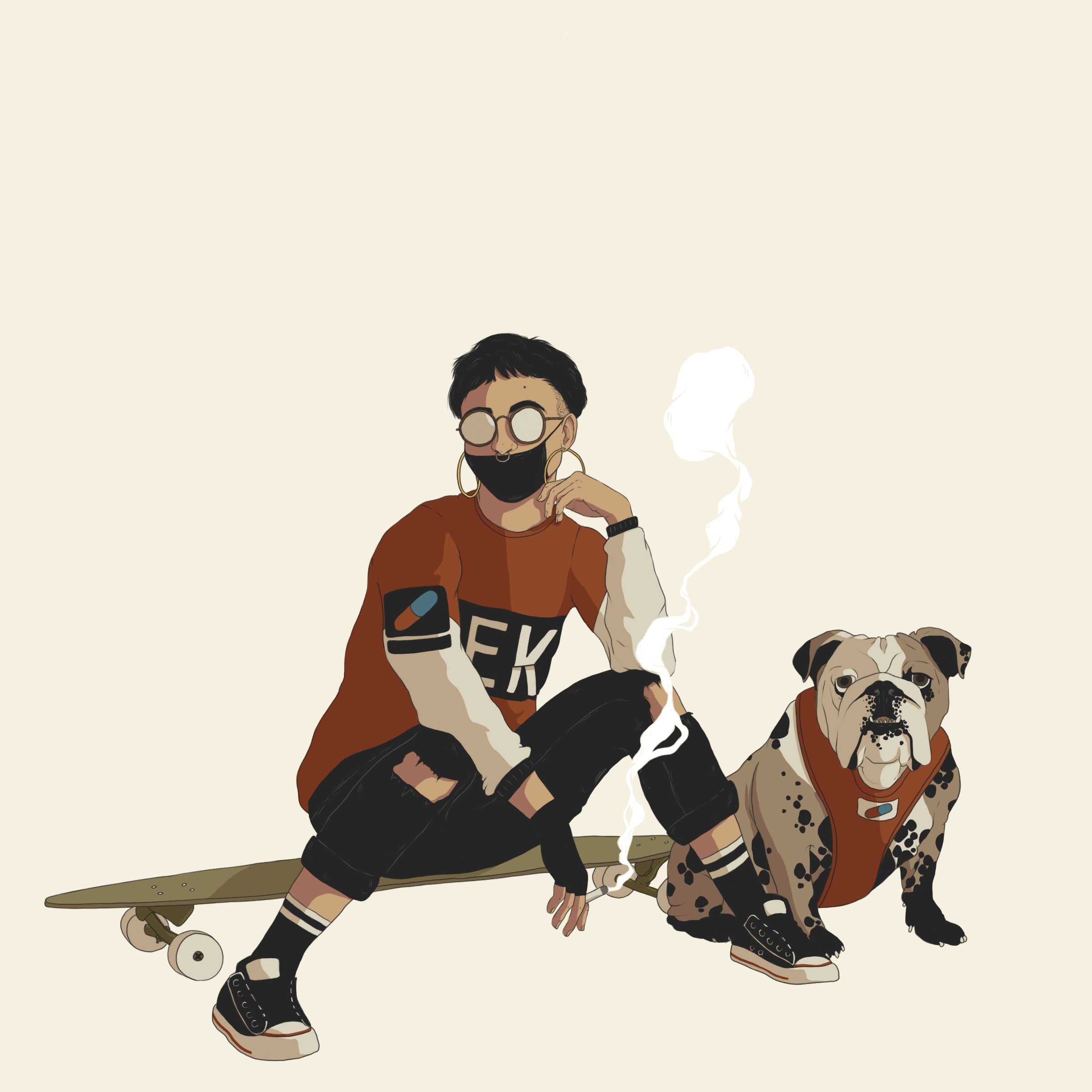 bulldog and cig portrait.jpg
