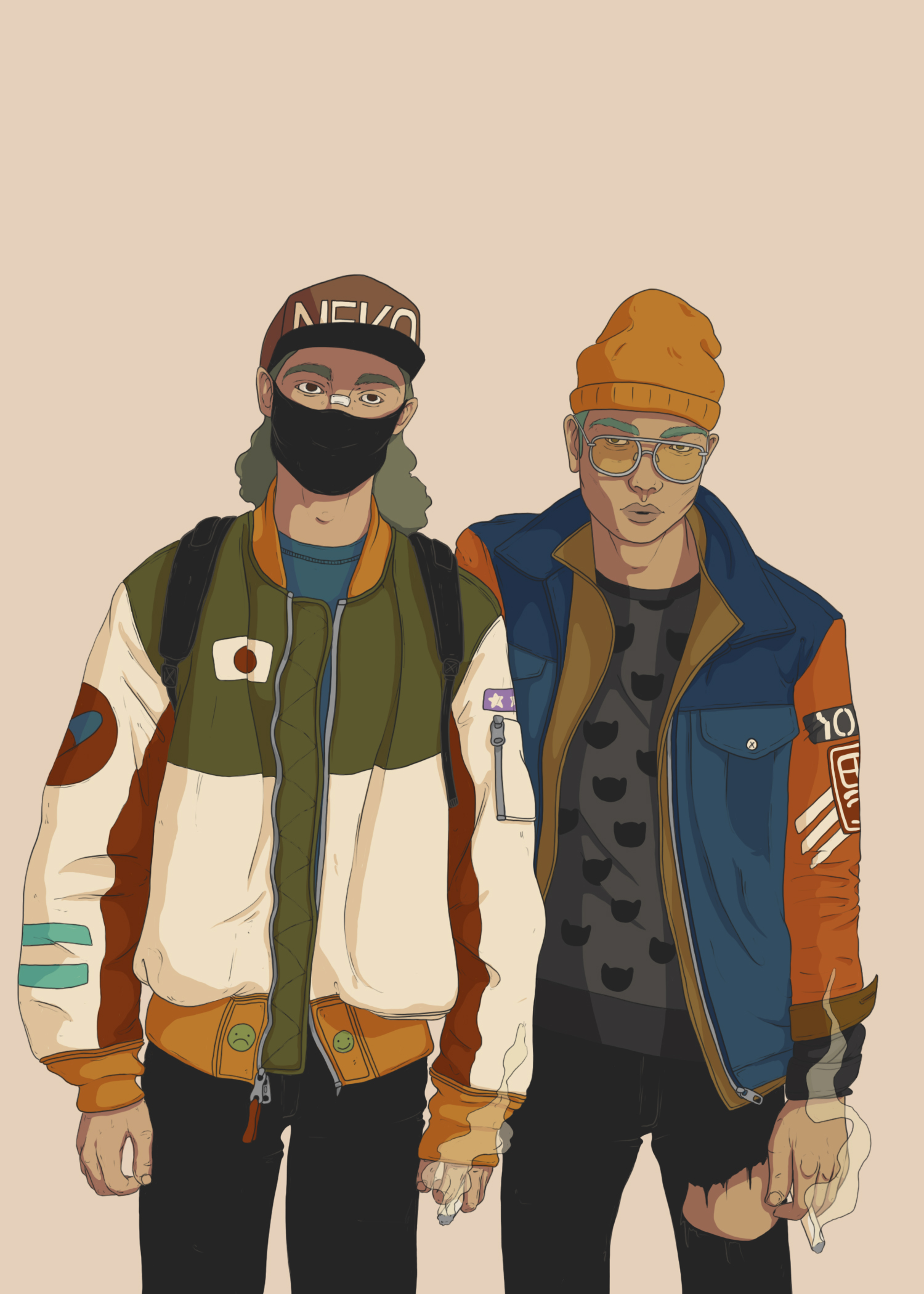 Neko twins