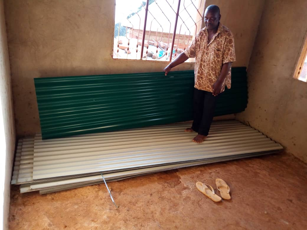 Some of the roofing sheets