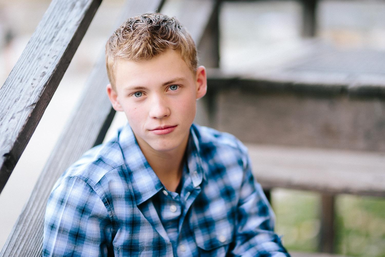 Utah outdoor rustic senior portrait boy.jpg