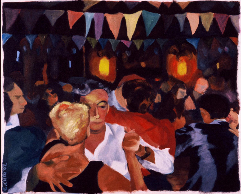 "Milonga , 2002, oil canvas, 60 x 48"", SOLD"