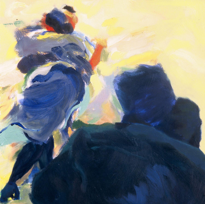 """Amarillo , 2003, oil canvas,20 x 20"""""""