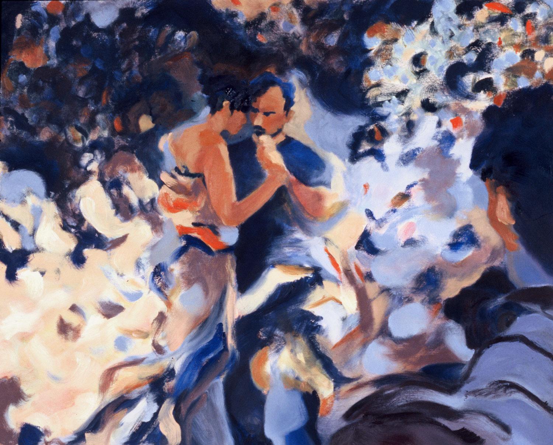 """Fantasia , 2003, oil canvas, 30 x 24"""", SOLD"""