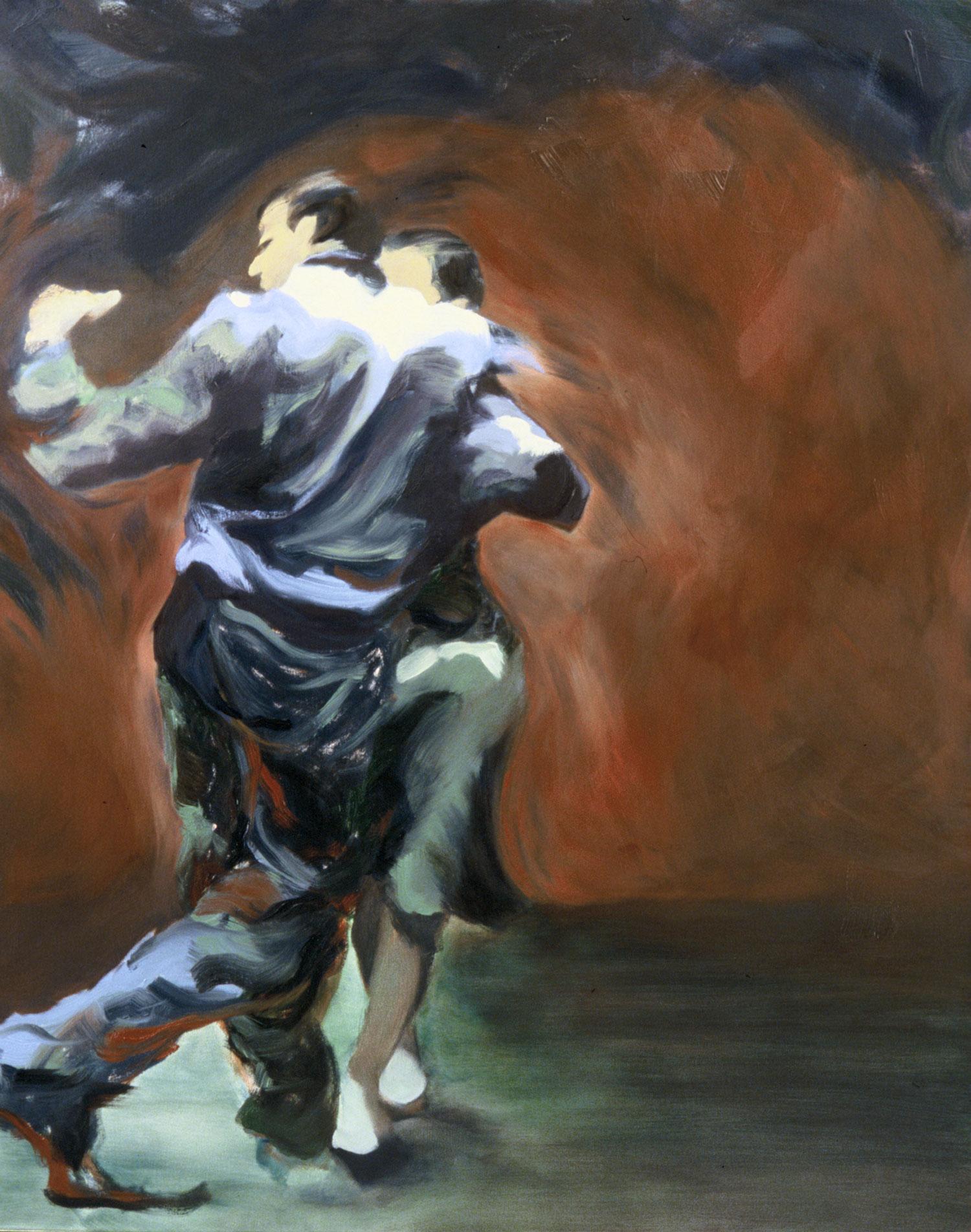 """Cada Noche , 2004, oil canvas, 48 x 60"""", SOLD"""